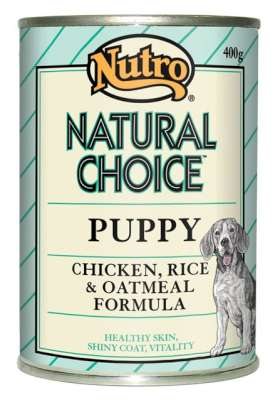 Nutro Puppy Can Chicken Amp Rice 12x400grms