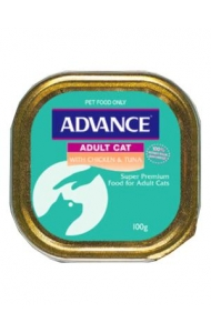 Advance Adult Cat Tender Chicken 7x85grms