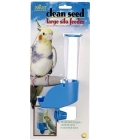 JW Insight Clean Seed Large Silo Bird Feeder