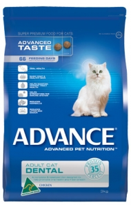 Advance Dental Adult Cat With Chicken - 2kg