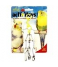 JW Activitoys Fork-Knife-Spoon Bird Toy