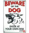Dog Sign - Beware Of The Dog Alsation - Medium
