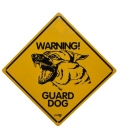 Dog Sign - Warning Guard Dog Roadsign