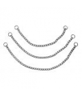 Chrome Choka Chain Collar