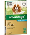 Advantage For Dogs 4-10kg Aqua 4 Pack