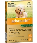 Advocate Puppy and Small Dogs Under 4kg - 3 pack